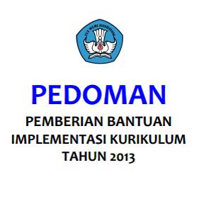 Bimtek Implementasi Kurikulum Tahun 2013