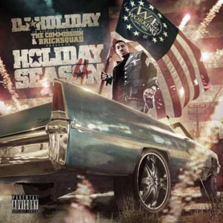 Capa da Mixtape Holiday Season Vol.4