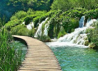 Jalan Setapak Danau Plitvice