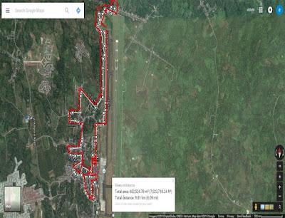 Rute Angkasa Pura Running Series 4 Manado, lomba lari di banadara Sam Ratulangi Manado