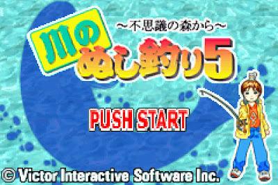 【GBA】釣魚太郎5(川之垂釣)-不思議的森林+金手指+攻略+原版遊戲Rom下載!