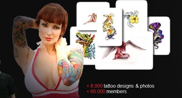 TattooMeNow.com é um lugar para pessoas que gostam de ser tatuado e quer inspiração e idéias tatuagem para seus tatuagens futuras. Com 8000 + projetos de alta qualidade e fotos de tatuagem e 60.000 membros, somos a maior e mais popular tatuagem on-line associação local.