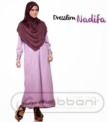 Gambar Dress Muslim Rabbani untuk Remaja
