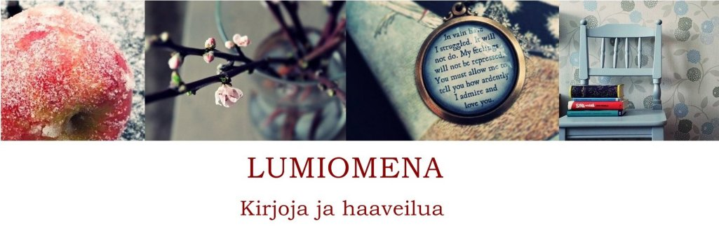 Lumiomena - Kirjoja ja haaveilua