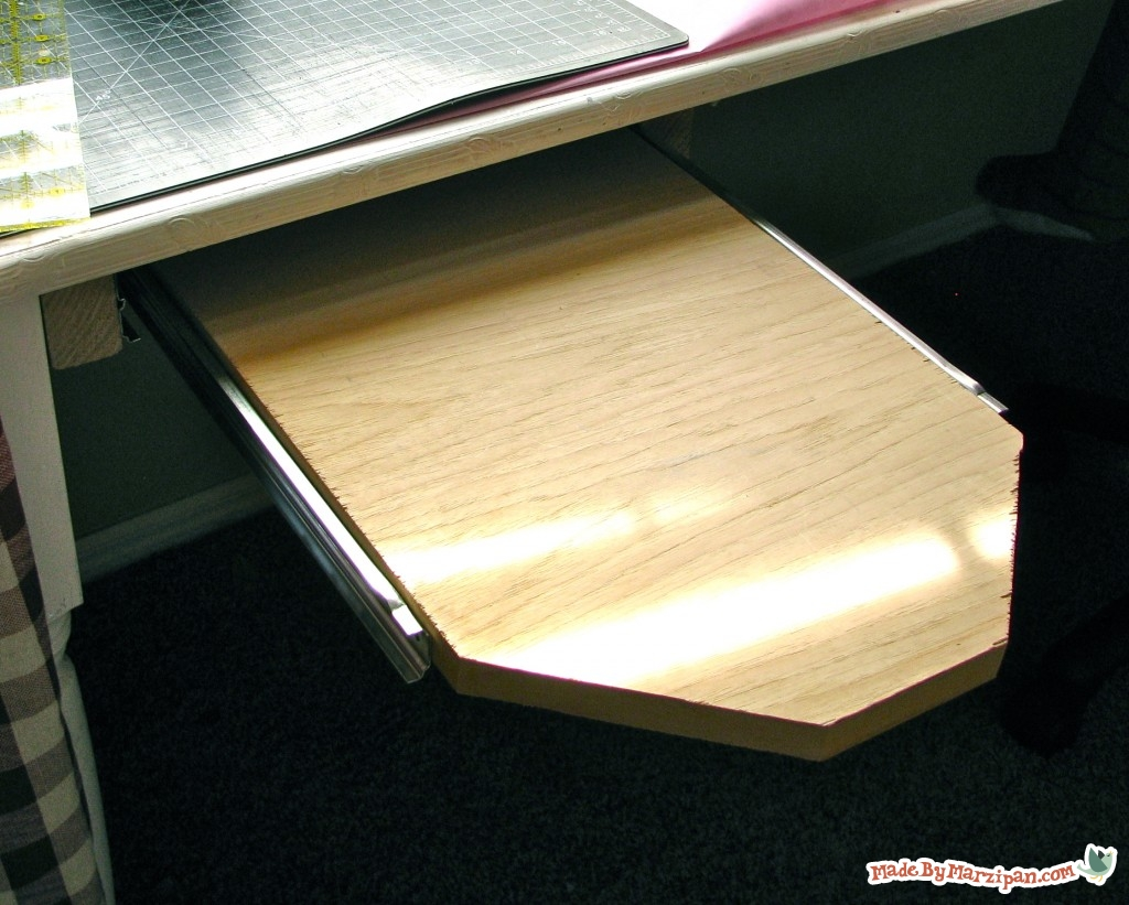 Sew incidentally sewing spaces slide out under table ironing board - Ironing board for small spaces decor ...