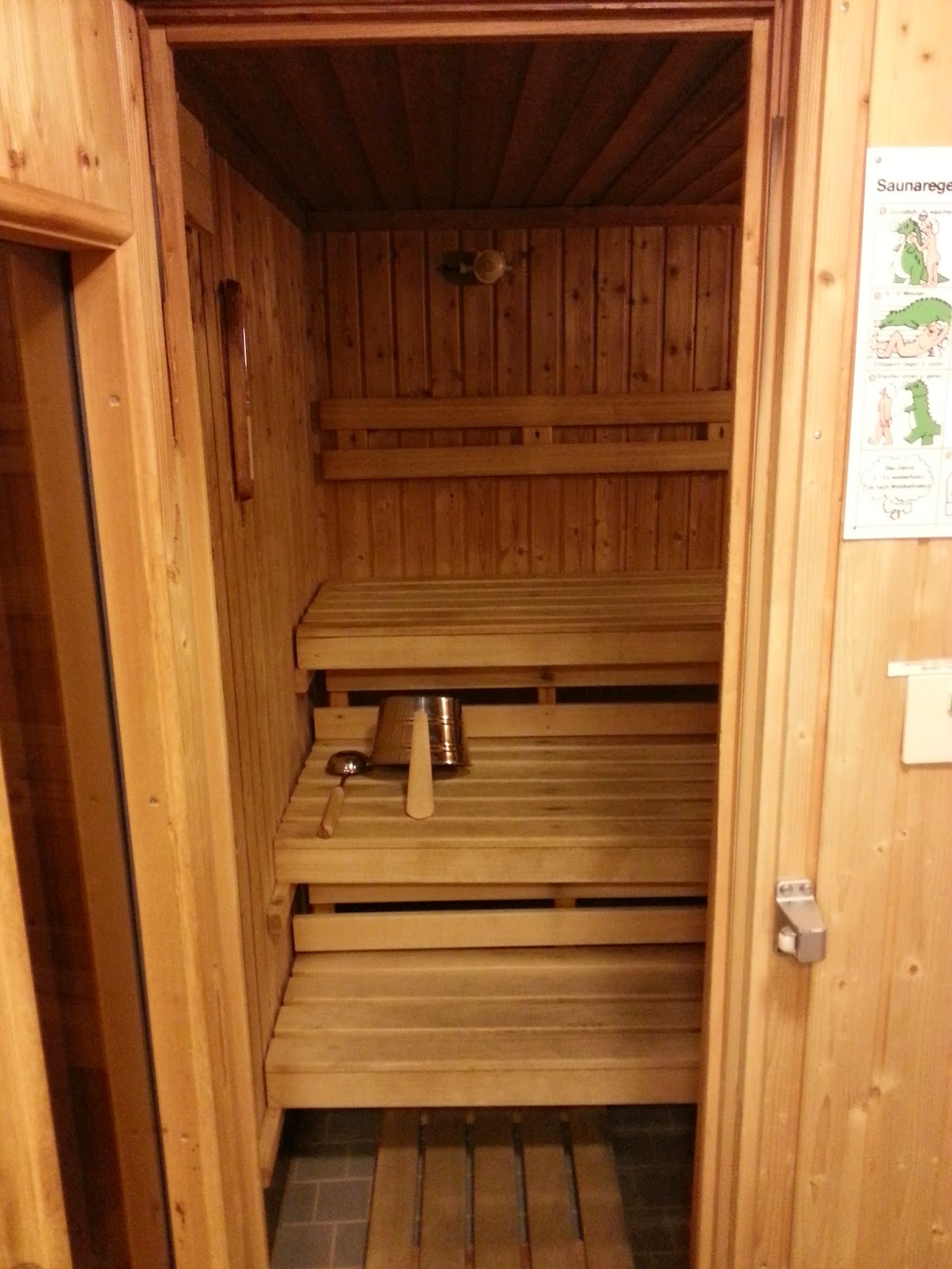 Hurtigruten MS Nordlys - Sauna