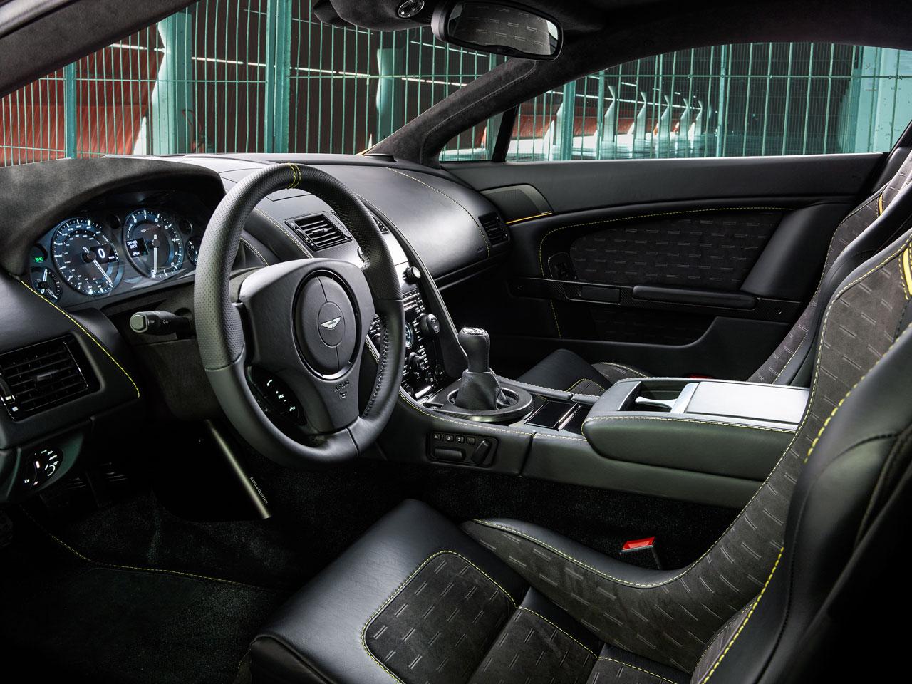 Aston Martin V8 Vantage N430 interior
