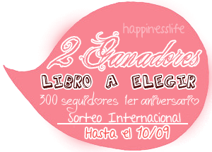http://yourhappinesslife.blogspot.mx/2014/08/2-sorteo-300-seguidores-1er-aniversario.html?showComment=1407449972473#c4174716134559735427