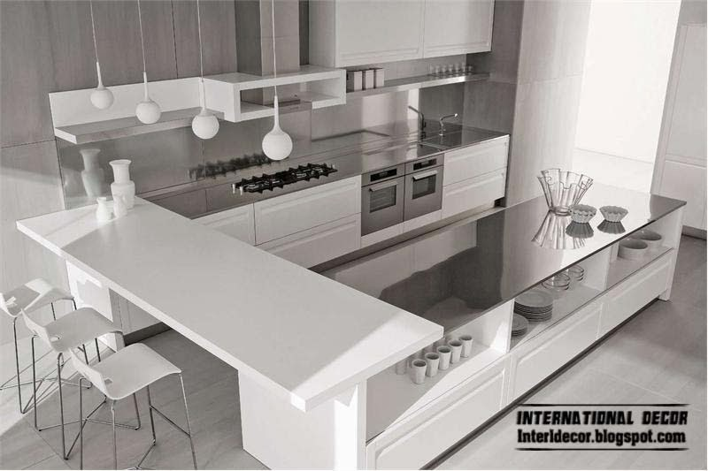 Elegant white kitchen designs and ideas white kitchen cabinets Modern elegant kitchen design