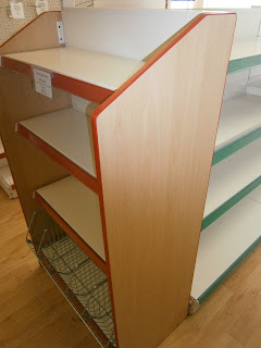 end bay shelving