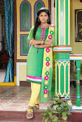 Anjali latest photos in green churidar-thumbnail-12