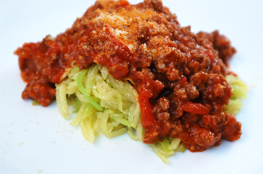 "Simply Fit Mama: Zucchini ""Spaghetti"" Low Carb Pasta Substitute ..."
