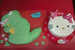 tarta de hello kitty