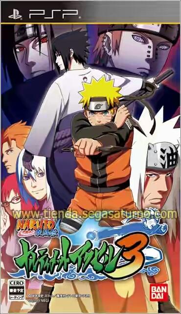 Naruto: Ultimate Ninja Heroes - PSP-PSV RU