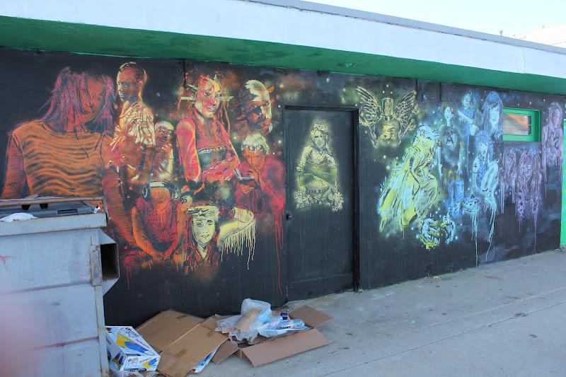 Frog House Newport Beach Part - 29: Frog House, Stuck 731 Stencil Mural... Newport Beach CA
