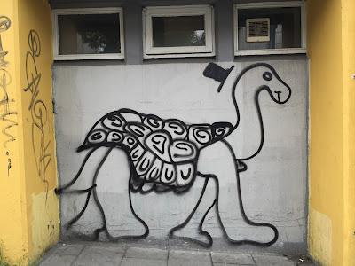 Reykjavik Mural Turtle
