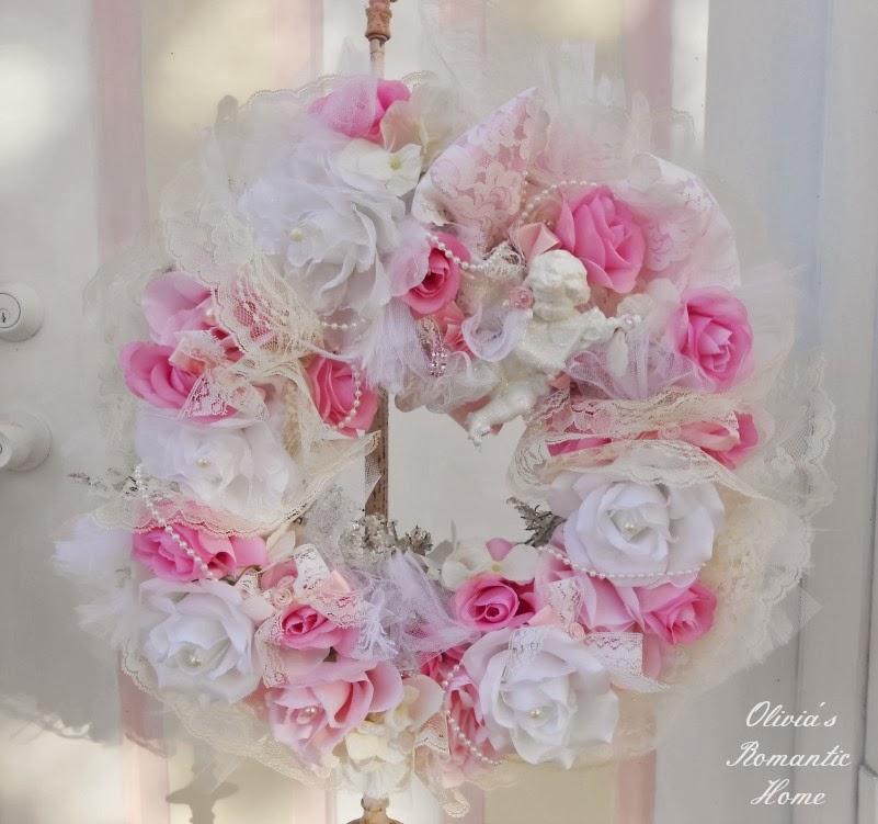 Shabbydazzle Cherub Wreath