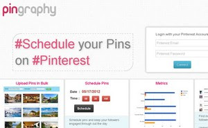 Pingraphy - Web-based Pinterest tool