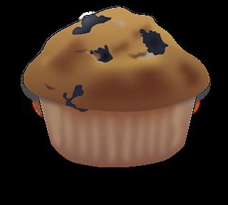 Dibujos de muffins para imprimir