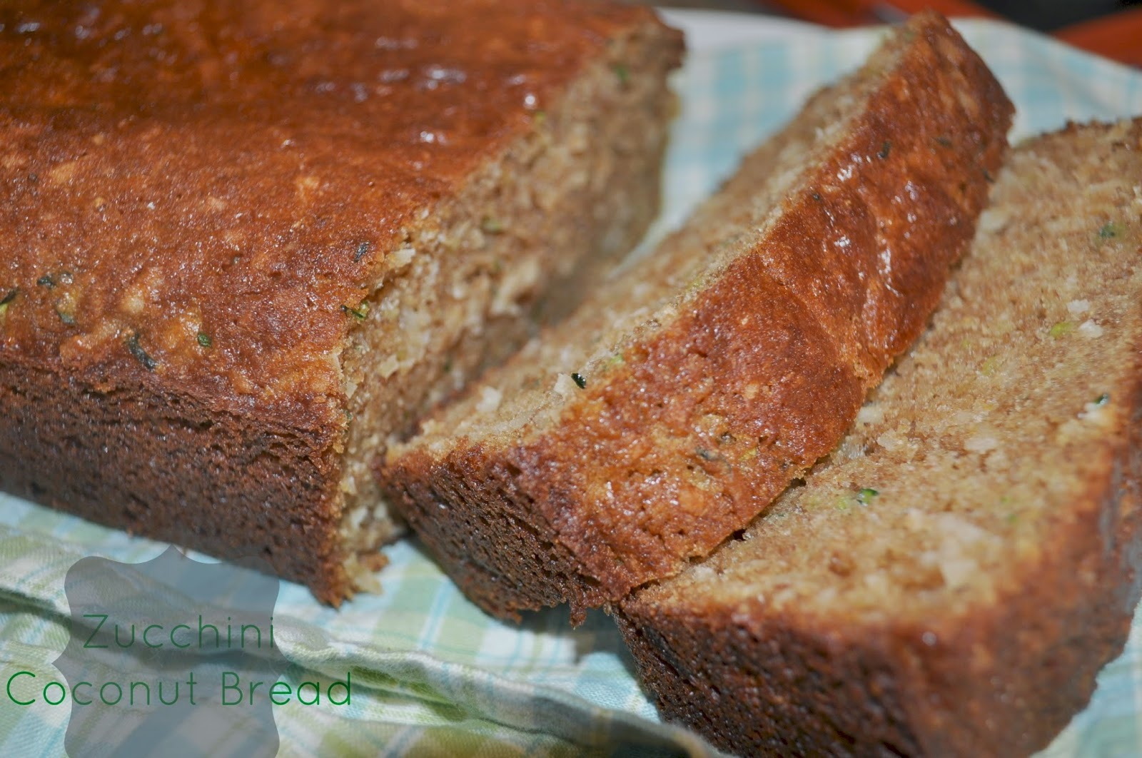 Fit Momma Foodie: Zucchini Coconut Bread