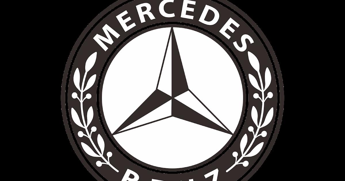 mercedes benz logo vector download free