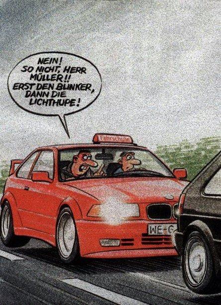 Fahrer Witze Bmw