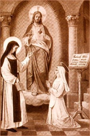 Gertrud und Mechtild von Helfta
