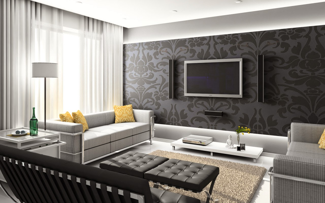 Interior warna warna netral