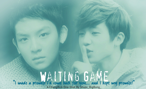 Waiting Game - changjo oneshot ricky romance teentop yaoi changrick - main story image