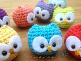 Crochet Owl Lady Amigurumi – Free Pattern