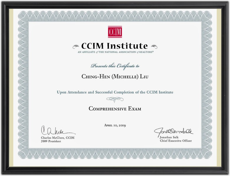 CCIM Comprehensive Exam