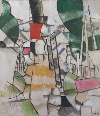 Fernand Léger - Le passage à niveau,1912.