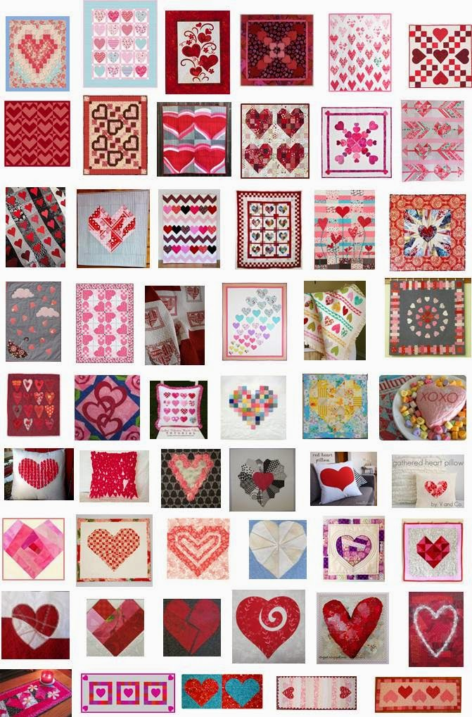 Quilt Inspiration Celebrating Valentines Day And Our 5th