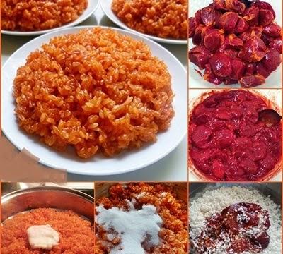 Cách nấu xôi gấc truyền thống đỏ, dẻo thơm, bóng đẹp1