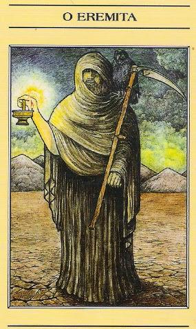 Arcano IX, O Eremita - Como ler tarot mitológico
