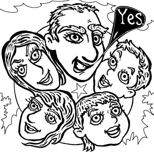 We Are Family - Panel 8 - Silly Daddy comic by Joe Chiappetta