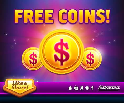 Slotomania free coins june 6 2016 daily giftz for Gold fish casino promo codes