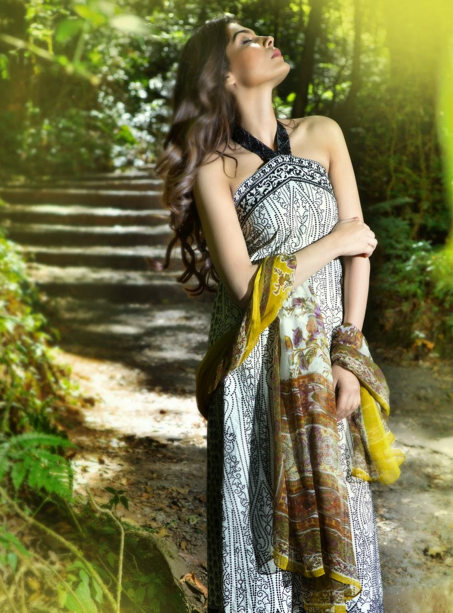 Sana Safinaz Spring Lawn collection 2015