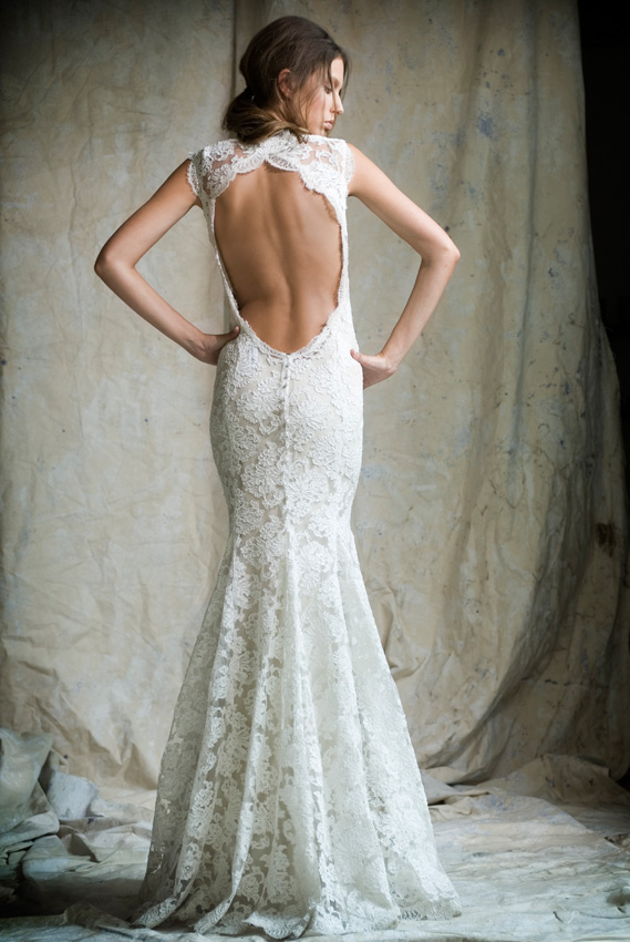 Paper dollybird my wedding dress for Lace backless wedding dress