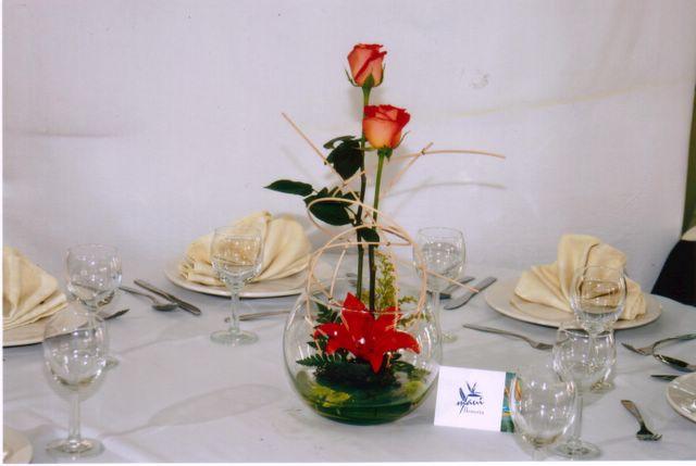 Creando sue os centros de mesa con peceras - Centros de mesa con peceras ...