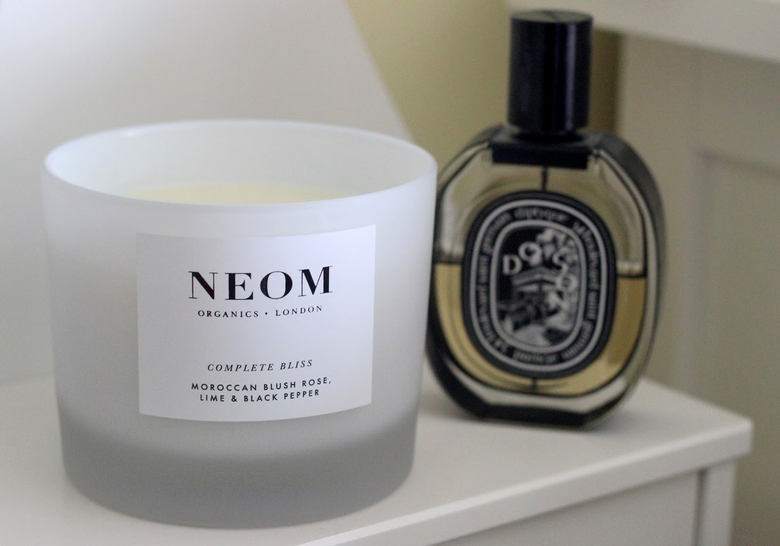 NEOM Moroccan Blush Rose, Lime & Black Pepper Candle review