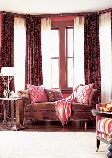 bay and bow window treatment ideas home appliance