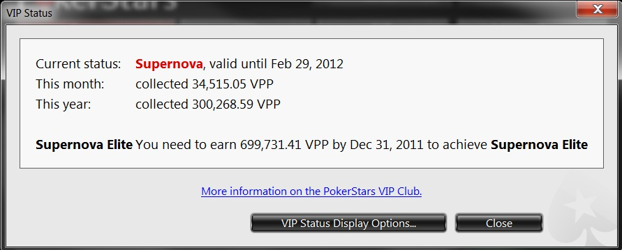 pokerstars vpp calculator