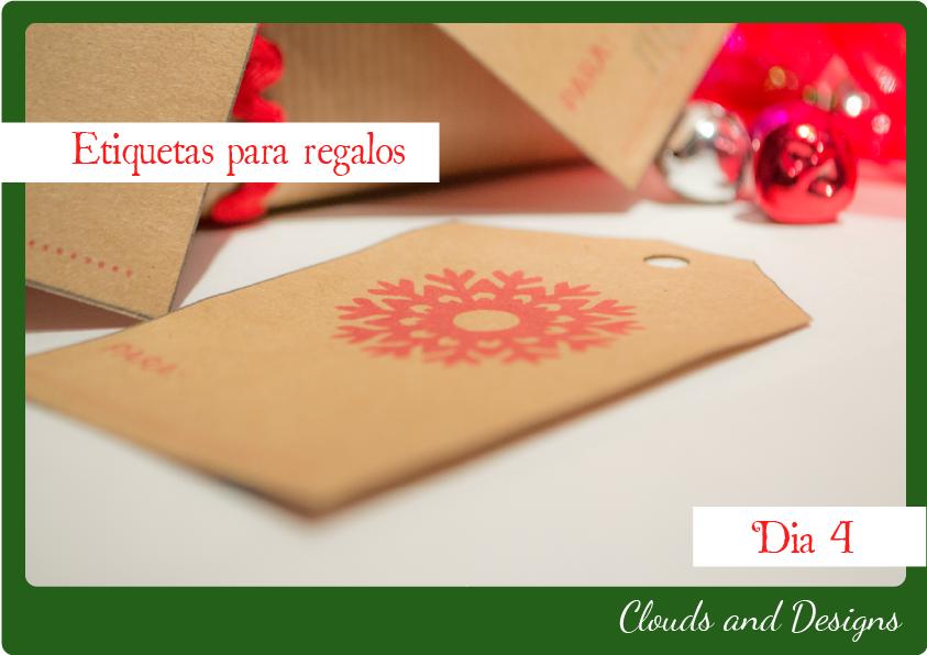 Adviento bloggero dia 4 etiquetas regalos