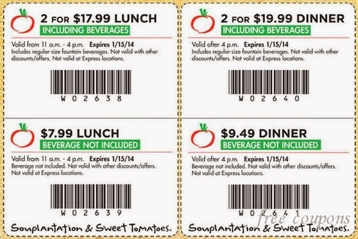 Souplantation discount coupons
