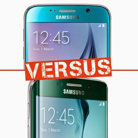 Adu Samsung Galaxy S6 vs Samsung Galaxy S6 Edge