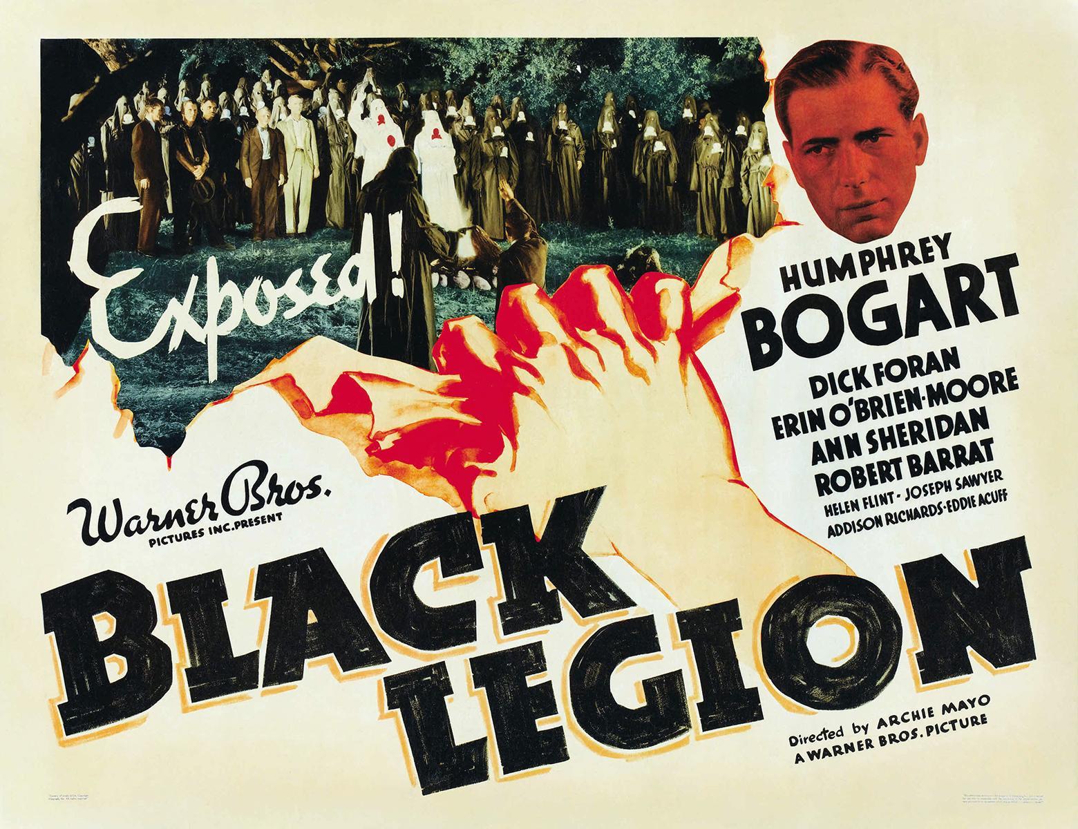 La Legión Negra (1937) Humphrey Bogart