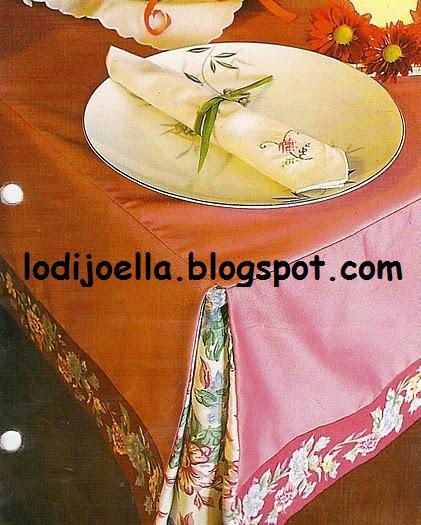 Como hacer un mantel con pliegues lodijoella - Hacer un mantel ...