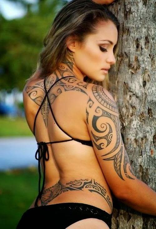 Women Tribal Tattoo Designs