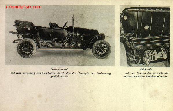 """Mobil """"Terkutuk"""" Penyebab Perang Dunia I - infometafisik.com"""